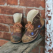 Обувь ручной работы. Ярмарка Мастеров - ручная работа Ромашка. Handmade.