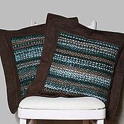 Для дома и интерьера ручной работы. Ярмарка Мастеров - ручная работа Комплект подушек. Handmade.