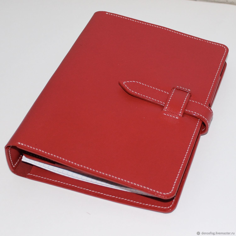 Notepad leather, Organizer, Samara,  Фото №1