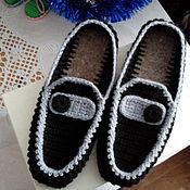 Обувь ручной работы. Ярмарка Мастеров - ручная работа Мужские мокасины. Handmade.