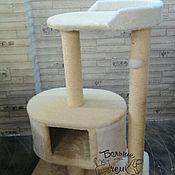 """Для домашних животных, ручной работы. Ярмарка Мастеров - ручная работа Когтеточка для больших кошек """"Савелий"""" мех. Handmade."""