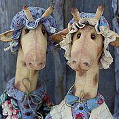 Куклы и игрушки ручной работы. Ярмарка Мастеров - ручная работа Жирафы.. Handmade.