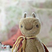 Куклы и игрушки ручной работы. Ярмарка Мастеров - ручная работа Друзья тедди. Моль Зизи. Handmade.