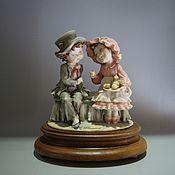Статуэтки ручной работы. Ярмарка Мастеров - ручная работа Фарфоровая статуэтка дети G.Armani Capodimonte. Handmade.