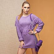 Одежда handmade. Livemaster - original item Lilac boho Dress. Handmade.