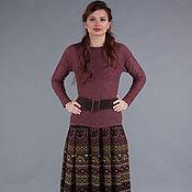 Одежда ручной работы. Ярмарка Мастеров - ручная работа Авторская вязаная юбка. Handmade.