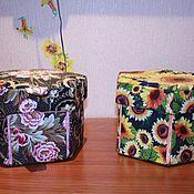 Для дома и интерьера ручной работы. Ярмарка Мастеров - ручная работа Норвежская коробочка для хранения бижутерии и швейных принадлежностей. Handmade.