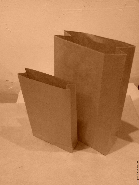 Бумажные пакеты под нанесение логотипа