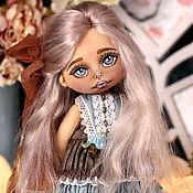 Портретная кукла ручной работы. Ярмарка Мастеров - ручная работа Текстильная кукла. Кукла коллекционная. Кукла. Handmade.