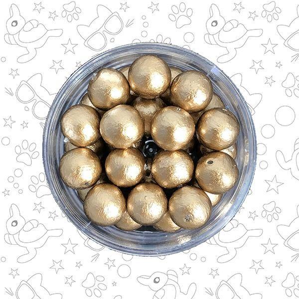Жемчуг хлопковый Gold 16 мм, Бусины, Москва,  Фото №1