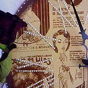 """Для дома и интерьера ручной работы. Ярмарка Мастеров - ручная работа """"Модницы прошлого века""""- большие интерьерные часы.. Handmade."""