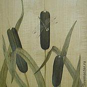 """Картины и панно ручной работы. Ярмарка Мастеров - ручная работа Картина """"Стрекоза"""" шпон-маркетри. Handmade."""