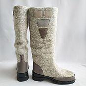 Обувь ручной работы handmade. Livemaster - original item Boots-boots of Fog. Handmade.