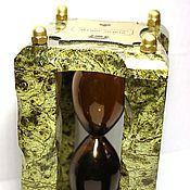 Часы классические ручной работы. Ярмарка Мастеров - ручная работа Нефтяные часы (all stone). Handmade.