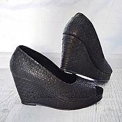 Обувь ручной работы handmade. Livemaster - original item AVAILABLE-wedge Sandals. Handmade.