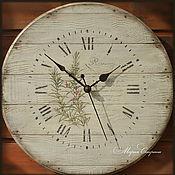 """Часы настенные круглые """"Розмарин"""" 40см"""
