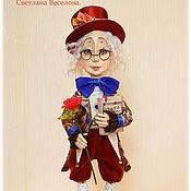 Куклы и игрушки ручной работы. Ярмарка Мастеров - ручная работа авторская коллекционная кукла РОМАНТИК. Handmade.