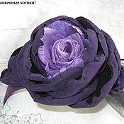 """Украшения ручной работы. Ярмарка Мастеров - ручная работа Шляпка-ободок """"Violet Hour"""". Handmade."""