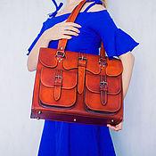 Сумки и аксессуары handmade. Livemaster - original item Big red ))). Handmade.