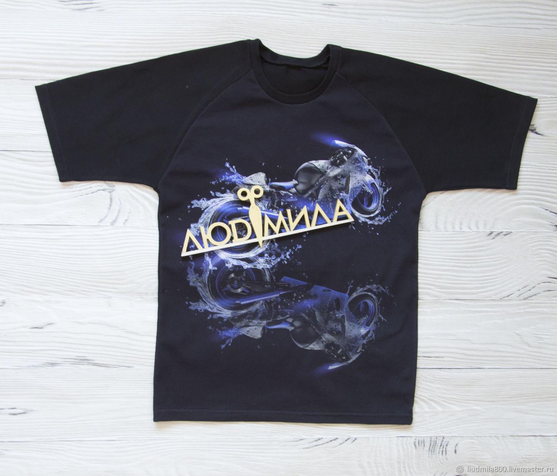 T-Shirt Aqua Moto, T-shirts, Tyumen,  Фото №1