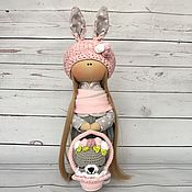 """Куклы и игрушки ручной работы. Ярмарка Мастеров - ручная работа Текстильная кукла """"Пасхальный Зайчик"""". Handmade."""