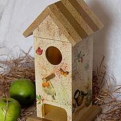 """Для дома и интерьера ручной работы. Ярмарка Мастеров - ручная работа Чайный домик """"Весна в моем доме"""". Handmade."""