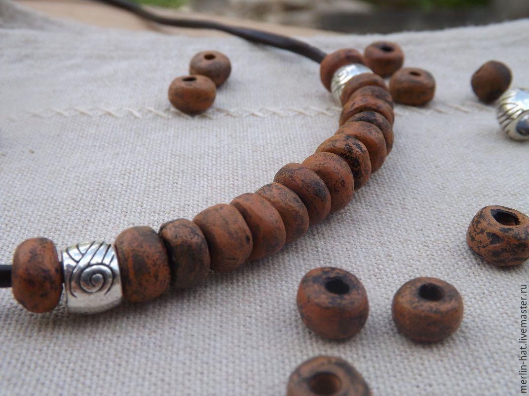 Ceramic choker 'Africa', Pendants, Tambov,  Фото №1