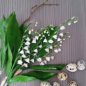 Цветы и флористика ручной работы. Ярмарка Мастеров - ручная работа Ландыши. Handmade.