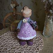 Куклы и игрушки ручной работы. Ярмарка Мастеров - ручная работа Обезьянка маленькая 28 см. Handmade.