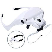 Материалы для творчества handmade. Livemaster - original item Magnifier with light headband (magnifier glasses) 5 interchangeable lenses. Handmade.