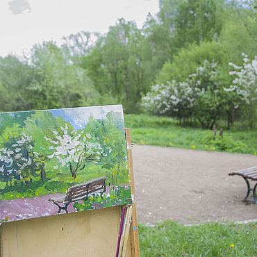Pictures and panels handmade. Livemaster - original item Painting: oil painting landscape