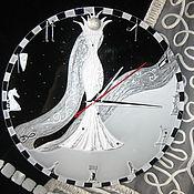 Подарки к праздникам handmade. Livemaster - original item Clock with painting