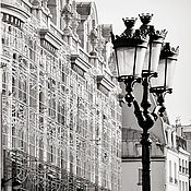 Картины и панно handmade. Livemaster - original item Black and white pictures of Paris, Photo pictures of the city