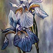 Картины и панно handmade. Livemaster - original item Flowers unknown countries. Handmade.