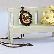 """Украшения ручной работы. Ярмарка Мастеров - ручная работа Кулон """"Королевская пташка"""". Handmade."""