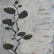 """Картины и панно ручной работы. Ярмарка Мастеров - ручная работа Абстрактная картина """"Herbarium"""". Handmade."""