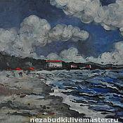 Картины и панно ручной работы. Ярмарка Мастеров - ручная работа Картина «Балтийский залив». Handmade.