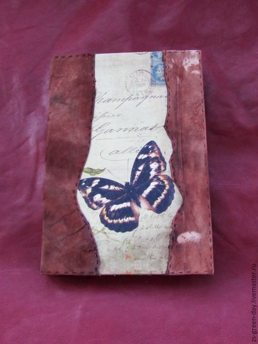 Аксессуары для фотосессий ручной работы. Ярмарка Мастеров - ручная работа. Купить Летний дневник. Handmade. Разноцветный, переплётный картон