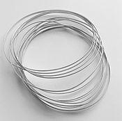 Проволоки ручной работы. Ярмарка Мастеров - ручная работа Проволока для перегородок клуазоне 0,2х0,8 прокатанная серебро 925. Handmade.