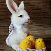 Куклы и игрушки ручной работы. Ярмарка Мастеров - ручная работа Пасхальный кролик(без повтора). Handmade.