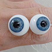 Глаза и ресницы ручной работы. Ярмарка Мастеров - ручная работа Глаза Лауша . 24 мм.Разные цвета и размеры. Handmade.