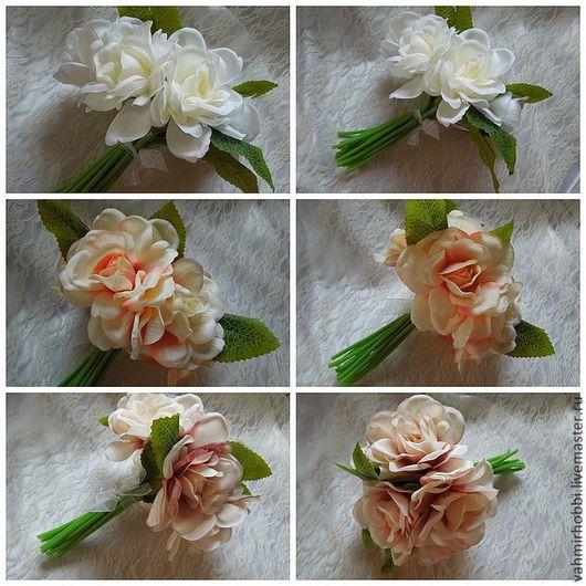 Другие виды рукоделия ручной работы. Ярмарка Мастеров - ручная работа. Купить Дв 314 Букет роз  ( Ев). Handmade.