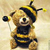 Куклы и игрушки ручной работы. Ярмарка Мастеров - ручная работа Еслиб мишки были пчелами 2...(Zzzzинка) (нашла дом). Handmade.