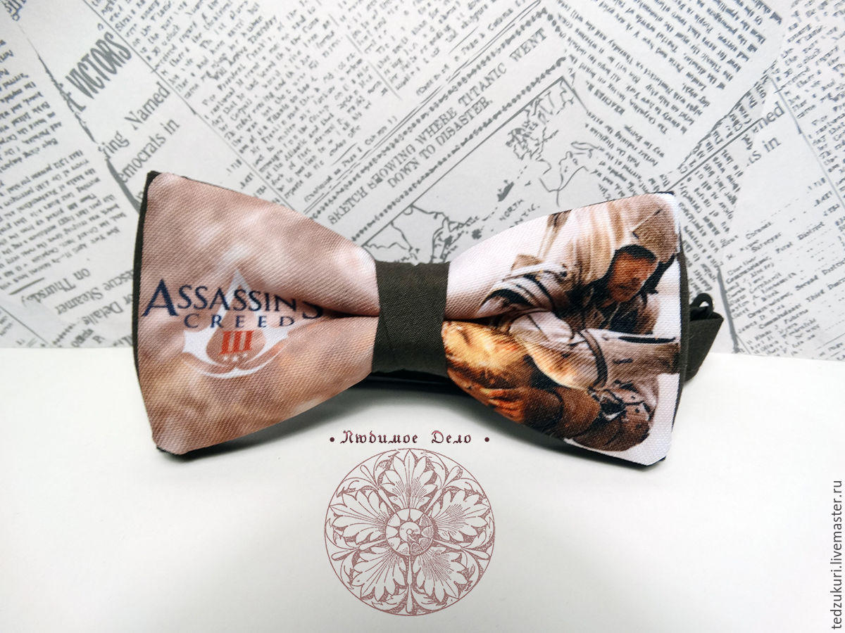 Assassin's Creed Bow Tie/ Assassin's Creed/ Game Room, Butterflies, Rostov-on-Don,  Фото №1