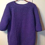 Одежда ручной работы. Ярмарка Мастеров - ручная работа Пуловер вязаный. Handmade.