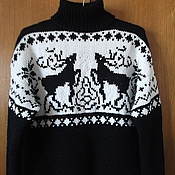 Одежда handmade. Livemaster - original item Sweater men`s