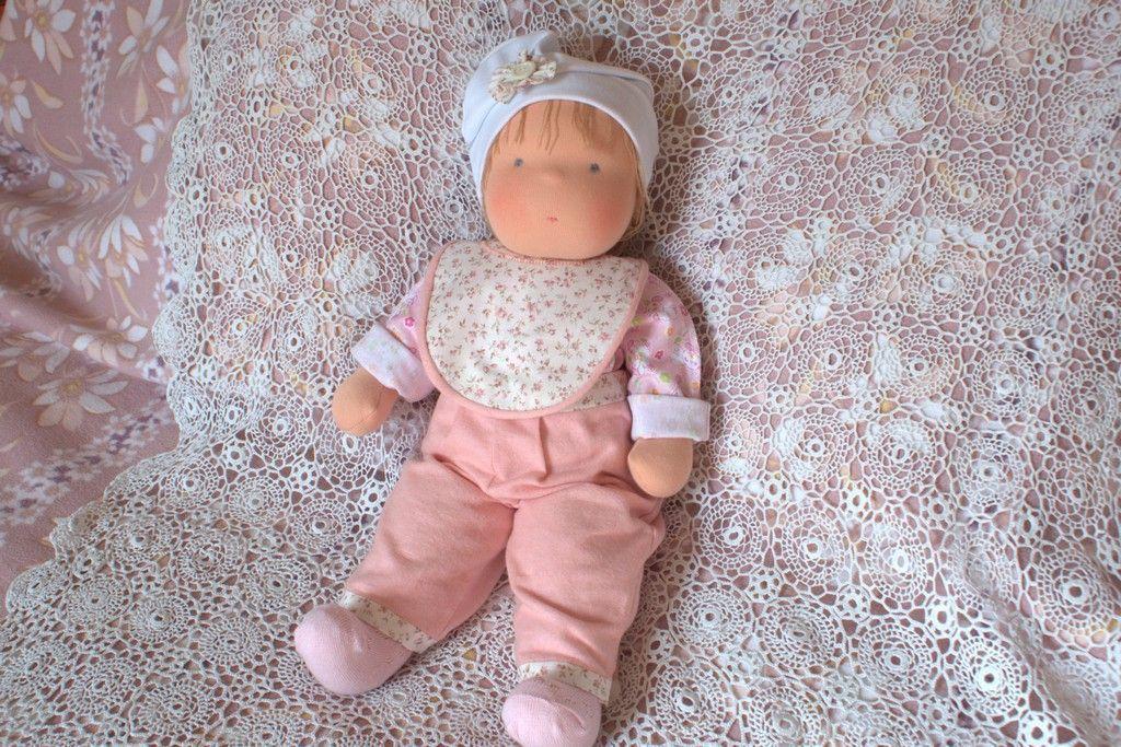 Игровые текстильные куклы для детей своими руками 22