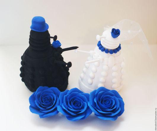 Фигурки из полимерной глины на свадебный торт. Terracotta by Elena Levit.