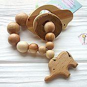 Куклы и игрушки handmade. Livemaster - original item Teething toy for teeth