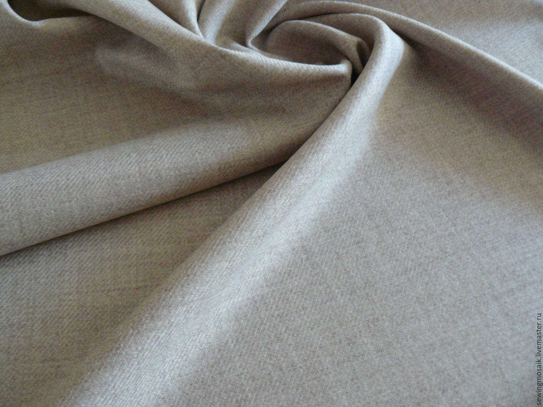7473c73c Sewing handmade. Livemaster - handmade. Buy Italian wool lana vergine beige.